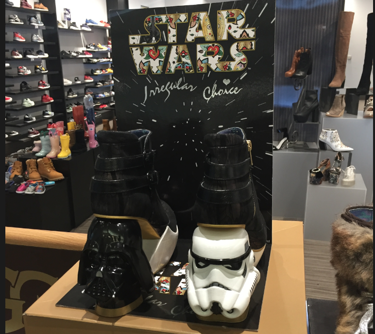 les chaussures star wars une id e de cadeau pour noel. Black Bedroom Furniture Sets. Home Design Ideas