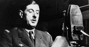 Charles de Gaulle 18 juin 1940